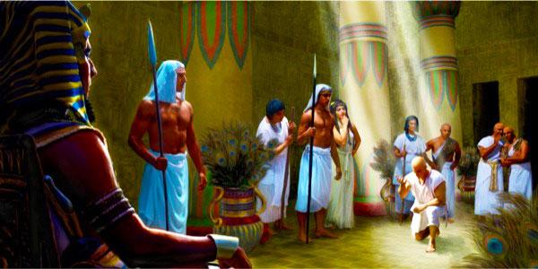 ante el faraón
