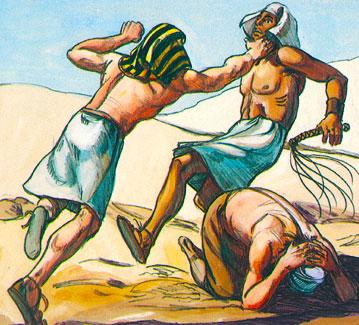 destierro Moisés