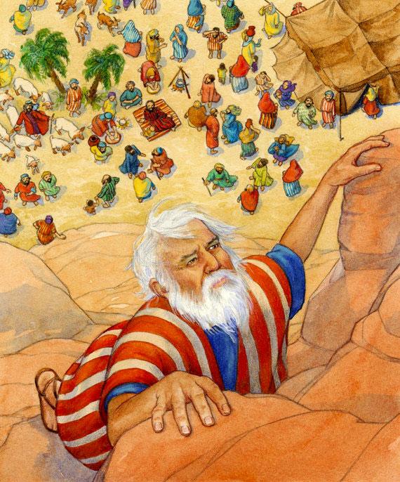 Moisés subiendo