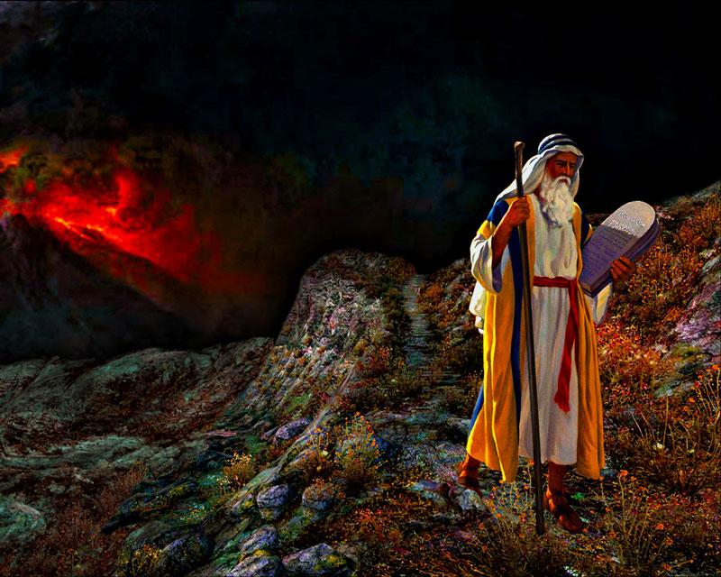 Moisés tablas