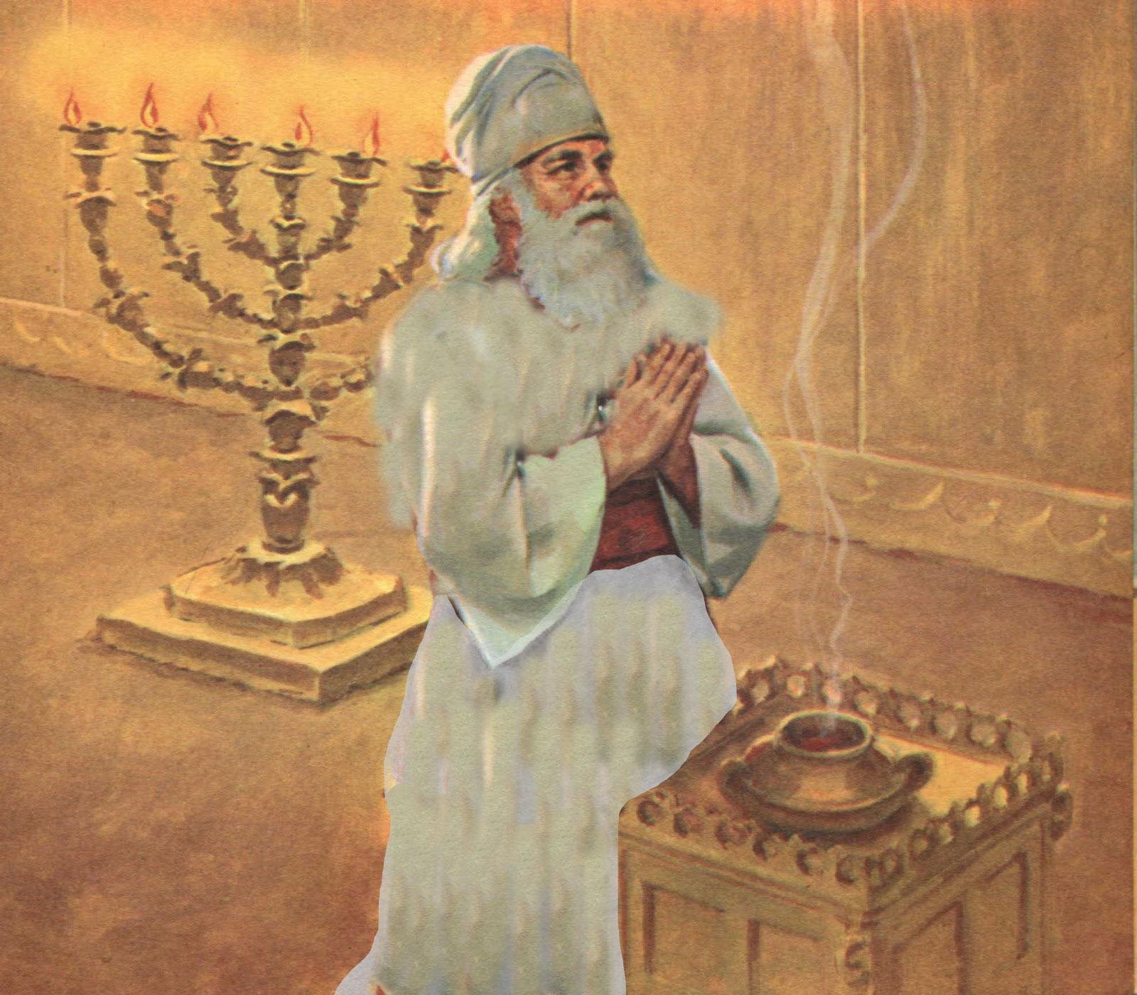 Como el velo interior del santuario no llegaba hasta el techo del edificio la gloria de dios que se manifestaba sobre el propiciatorio era parcialmente