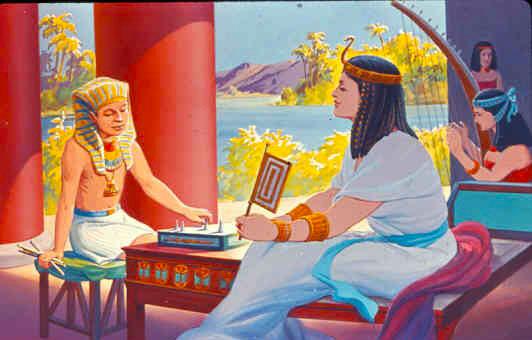 Moisés adolescente