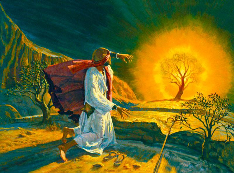 llamamiento Moisés